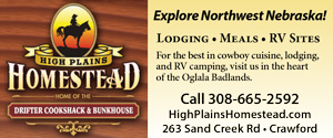high plains homestead lodging and meals