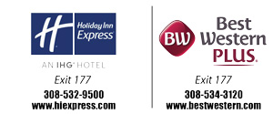 holiday inn express and best western